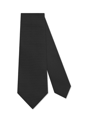 Bee-Embroidered Silk Tie