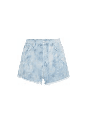 Derek Lam 10 Crosby Distressed Denim Shorts Woman Light denim Size 30