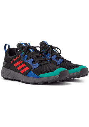 adidas Consortium - + White Mountaineering Terrex Agravic Speed Ripstop And Mesh Sneakers - Black
