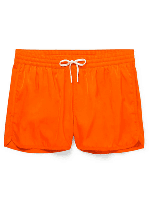 CDLP - + Grand Hotel Tremezzo Piscina Short-length Swim Shorts - Orange