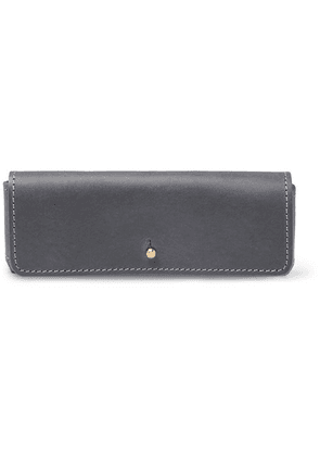 Cubitts - Leather Glasses Case - Gray