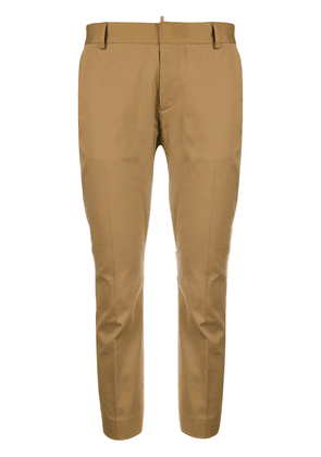 Dsquared2 cropped tailored trousers - Brown
