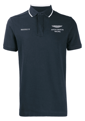 Hackett AMR embroidered polo - Blue