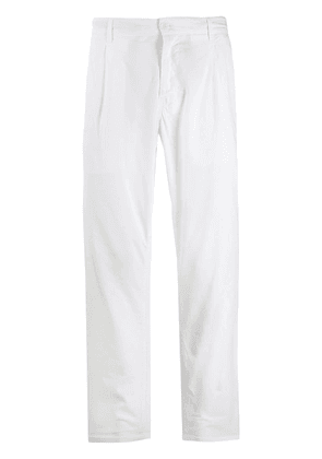 Aspesi straight leg trousers - White