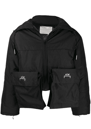 A-Cold-Wall* oversized pocket puffer coat - Black