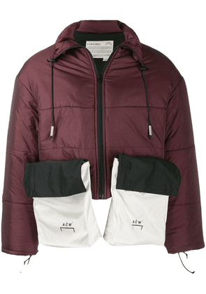 A-Cold-Wall* oversized pocket puffer coat - Red