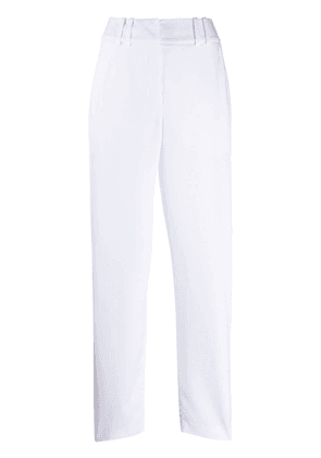 Balmain wide leg trousers - White