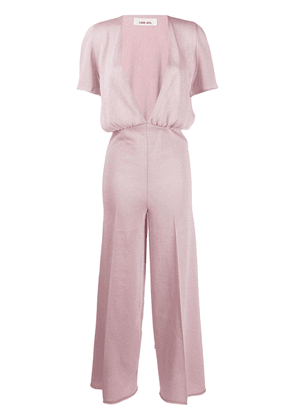 Circus Hotel wide-leg flared jumpsuit - Pink