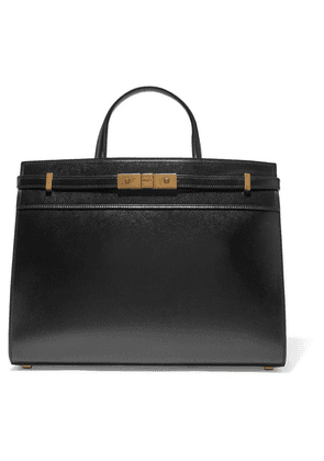 SAINT LAURENT - Manhattan Small Leather Tote - Black