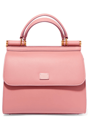 Dolce & Gabbana - Sicily 58 Small Leather Tote - Pink