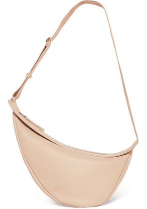 The Row - Slouchy Banana Large Textured-leather Shoulder Bag - Cream