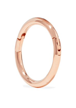 Maria Tash - 8mm 14-karat Rose Gold Hoop Earring - one size