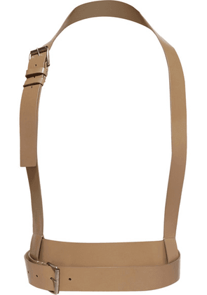 Ann Demeulemeester - Leather Harness - Beige