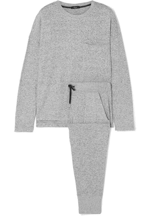 Rails - Micah Brushed Jersey Sweatshirt And Track Pants Set - Gray