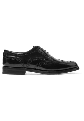 Church's - Burwood Glossed-leather Brogues - Black