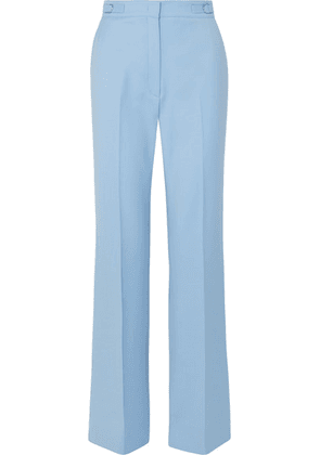 Gabriela Hearst - Vesta Wool-blend Wide-leg Pants - Blue