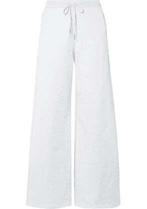 Opening Ceremony - Cotton-terry Track Pants - Light gray