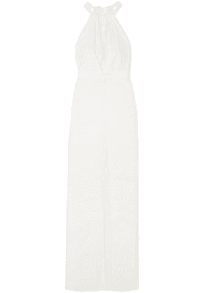 Halston Heritage - Crepe Gown - White