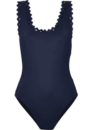 Karla Colletto - Reina Cutout Underwired Swimsuit - Navy