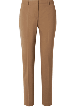 Theory - Wool-blend Straight-leg Pants - Sand