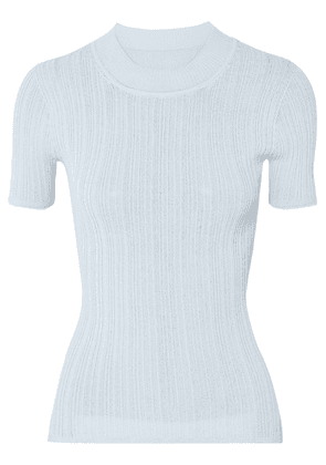 Jacquemus - Ribbed-knit Top - Sky blue