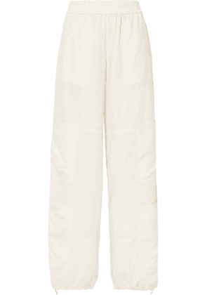 Wales Bonner - Silk Wide-leg Pants - White