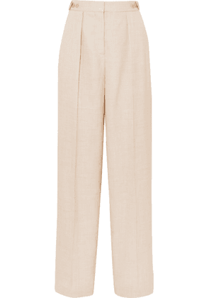 Stella McCartney - Woven Wide-leg Pants - Beige