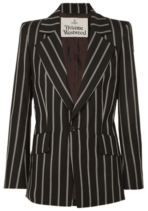 Vivienne Westwood - Lou Lou Striped Wool Blazer - Black