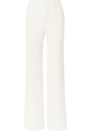 Chloé - Crepe Wide-leg Pants - White