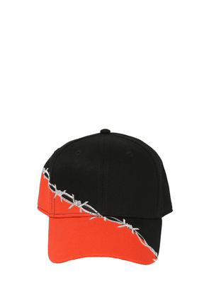 Barbwire Embroidered Cotton Baseball Hat