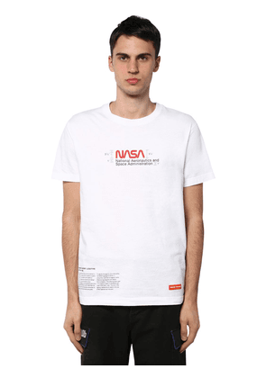 Nasa Print Regular Cotton T-shirt