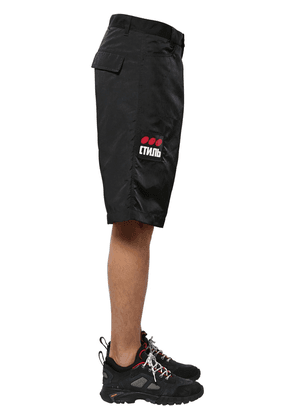 Ctnmb Patch Tech Baggy Shorts