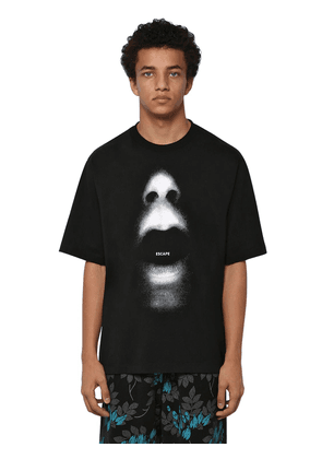 Over Printed Cotton Jersey T-shirt