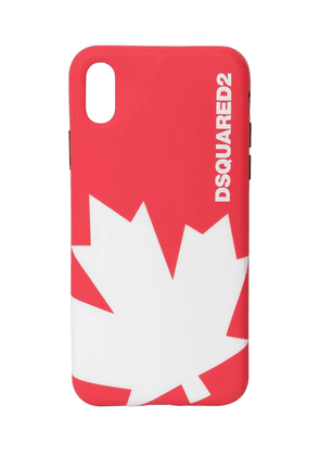 Maple Leaf Rubber Iphone X Case