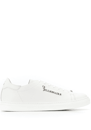 Billionaire lace up sneakers - White