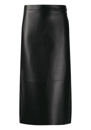 Dsquared2 fitted midi skirt - Black