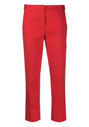 Michael Michael Kors stripe cropped trousers - Red
