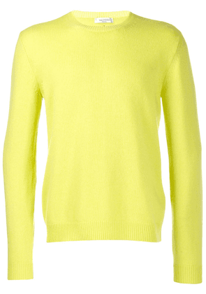 Valentino knit cashmere jumper - Yellow