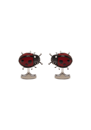 Movable ladybird cufflinks