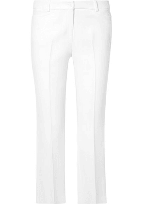 Michael Kors Collection - Stretch-crepe Straight-leg Pants - White