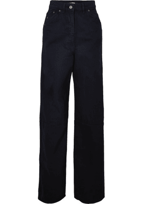Jacquemus - High-rise Wide-leg Jeans - Navy