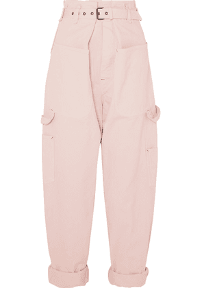 Isabel Marant - Inny Cotton Tapered Pants - Pink