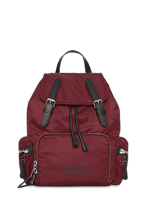 Medium Logo Nylon Backpack