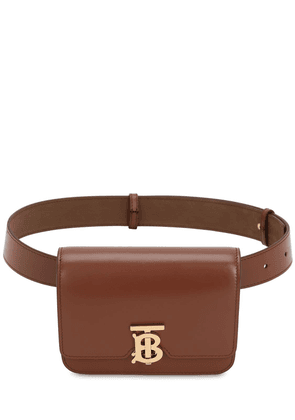 Tb Leather Belt Bag