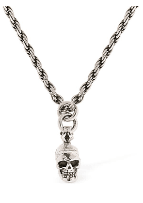 Small Skull Chain Necklace