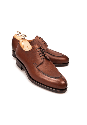 Chestnut Norwegian Split Toe Grein Leather Derbys