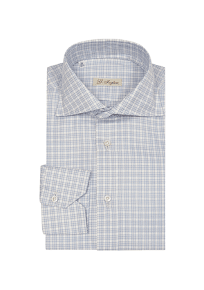 Light Blue Twill Galles Shirt