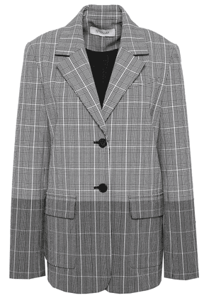 Derek Lam 10 Crosby Checked Dégradé Jacquard Blazer Woman Black Size 6