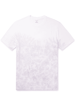 Club Monaco - Tie-dyed Cotton-jersey T-shirt - Lavender