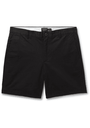 Club Monaco - Baxter Slim-fit Stretch-cotton Twill Shorts - Black